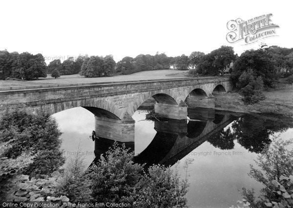 Photo of Bellingham, the Tyne and Bridge c1955, ref. B552007
