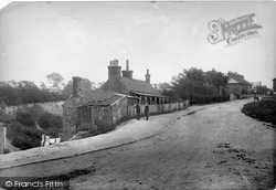 Belmont, Pit Cottages 1903