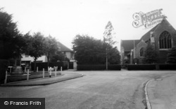 Belmont, St John's Church And Memorial c.1955
