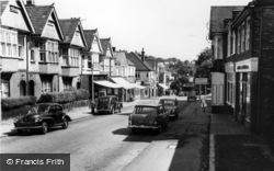 Belmont, Station Road c.1960