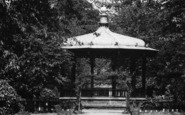 Belper, Gardens Bandstand c.1950