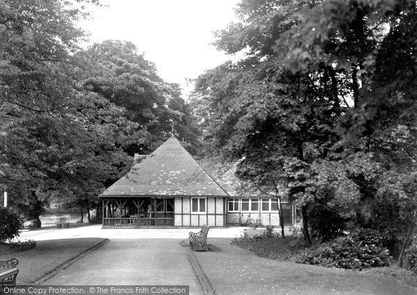 Photo of Belper, Gardens Cafe c.1950