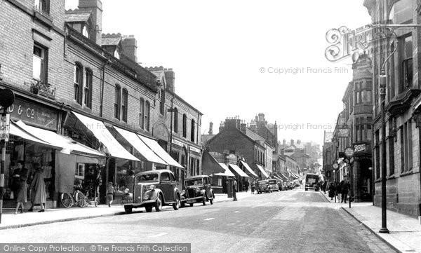 Belper, King Street 1951