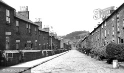 Belper, Long Row c.1950