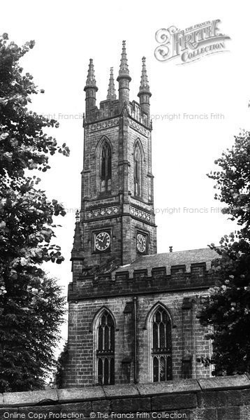 Belper, Parish Church Of St Peter c.1950