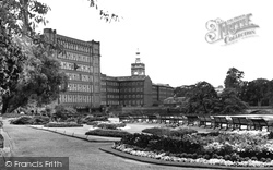 Belper, River Gardens c.1955