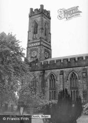 St Peter's Church c.1950, Belper