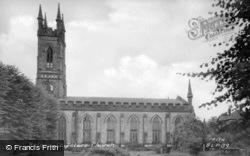 St Peter's Church c.1955, Belper