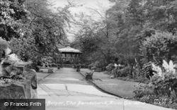 The Bandstand, River Gardens c.1950, Belper