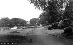 Belper, The Gardens c.1950