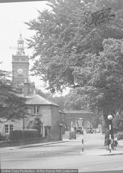 Photo of Belper, The Jubilee Clock Tower c.1950