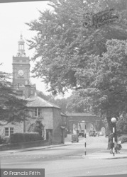 Belper, The Jubilee Clock Tower c.1950