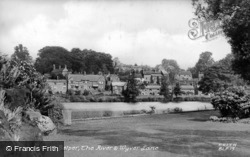 The River And Wyver Lane c.1950, Belper