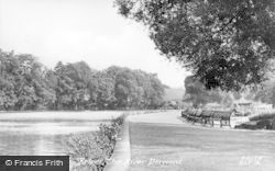 Belper, The River Derwent c.1950