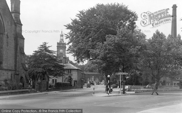 Photo of Belper, The Triangle c.1950