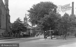 Belper, The Triangle c.1950