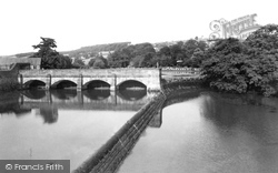 Belper, The Weir c.1955