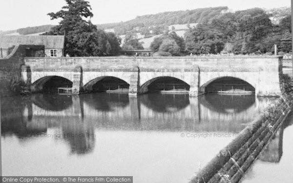 Photo of Belper, The Weir c.1955