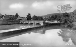 The Weir c.1955, Belper
