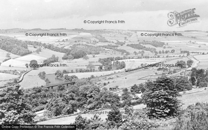 Photo of Belper, View From Crich Lane c.1955