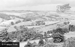 Belper, View From Crich Lane c.1955