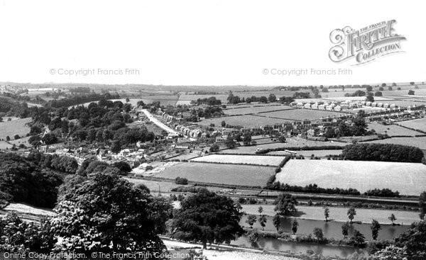 Belper, view from Crich Lane c1955