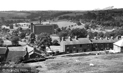 Belper, View From Festival Gardens c.1955