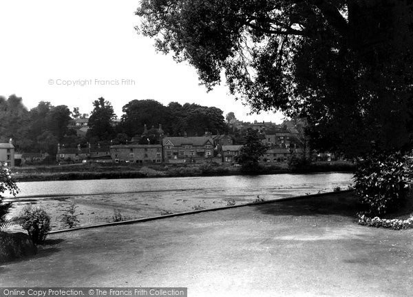 Belper, View From The Gardens c.1950
