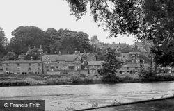 View From The Gardens c.1950, Belper