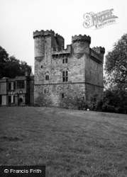 Belsay, Castle 1955