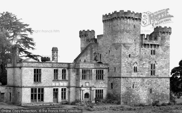 Belsay, Old Castle c.1955