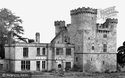 Belsay, Old Castle c.1955