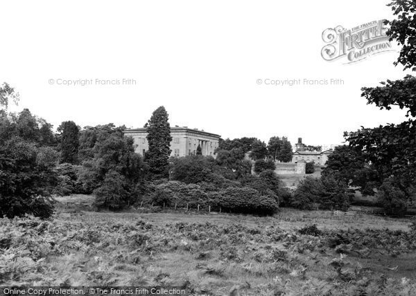 Belsay, The Hall And Stables c.1955