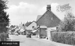 Beltinge, Reculver Road And Parish Hall c.1955