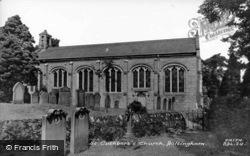 St Cuthbert's Church c.1960, Beltingham