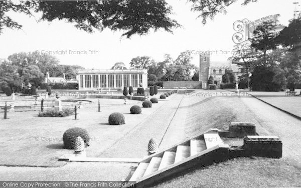Photo of Belton, Belton House, The Orangery c.1955