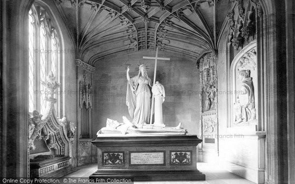 Photo of Belton, Church, Cust Monument 1893