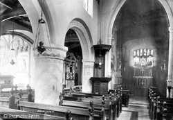 Belton, Church, Interior 1893