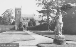 Belton, House, The Church And Statue c.1955