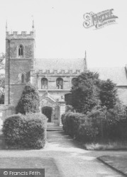 House, The Church c.1960, Belton
