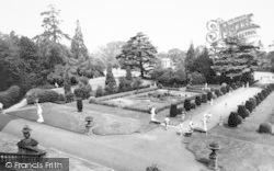 Belton, Ornamental Gardens, Belton House c.1955