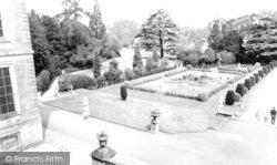Belton, Ornamental Gardens, Belton House c.1965