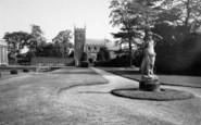 Belton, The Church, Belton House c.1955