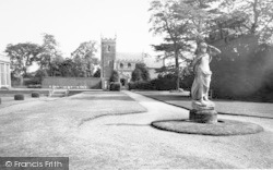 Belton, The Church, Belton House c.1955