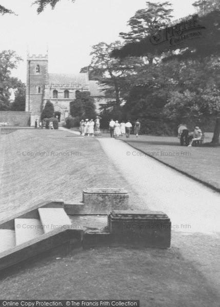 Photo of Belton, The Church, Belton House c.1955
