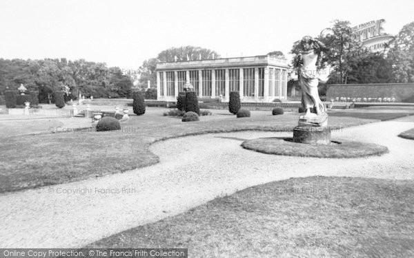 Photo of Belton, The Gardens, Belton House c.1955
