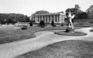 Belton, The Gardens, Belton House c.1955