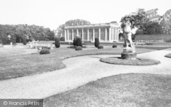 Belton, The Gardens, Belton House c.1955