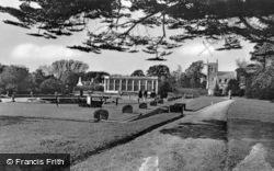 The Orangery And Belton Church c.1970, Belton