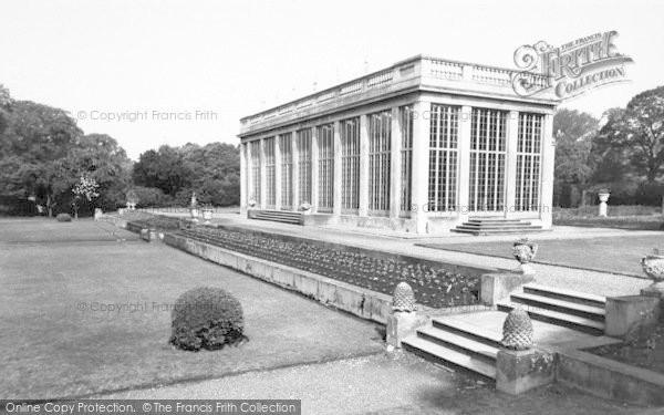 Photo of Belton, The Orangery, Belton House c.1955